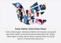 İnsan Hakları Günü Kutlu Olsun