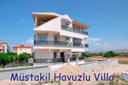 Didimde Satılık Müstakil Havuzlu Doğa İçinde Villa