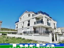 Didim de Satılık Deniz Manzaralı 3+1 Villa