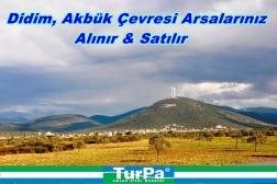 Didim Yeşiltepe Mevkiinde Yatırımlık Arsa