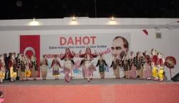 Didim Uluslararası Halk Dansları Şenliği Renkli Görüntülere Sahne oldu