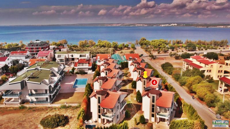 Didim Akbükte Satılık Denize Yakın 5+1 Lüks Villa