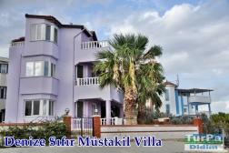 Didimde Denize Sıfır Deniz Manzaralı Satılık Villa