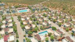 Doğa İçinde Olimpik Havuzlu Sitede Müstakil Villa