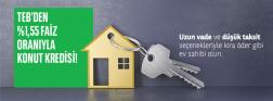 TEB'de Konut Kredisi Kampanyası