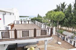 Didim Yeşilkent'te Denize 50 Metre Site içinde Full Eşyalı Satılık Villa