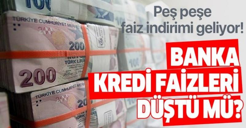 Son dakika haber: Bankalardan Faiz İndirimi Peş Peşe Geliyor!